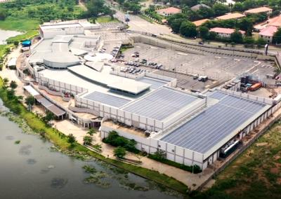 Hybrid PV System Jabi Lake Mall | 609.84 kWp