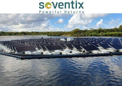 Schwimmende PV-Anlagen nachgeführte Systeme